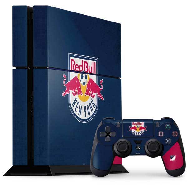 New York Red Bulls PlayStation Gaming Skins