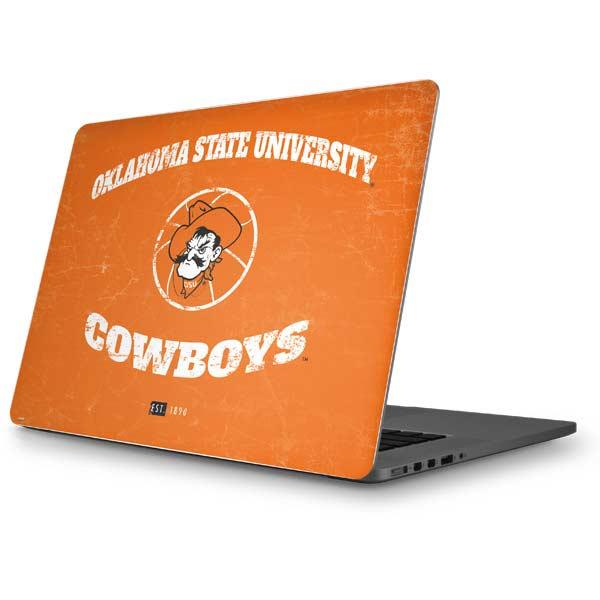 Oklahoma State University MacBook Skins