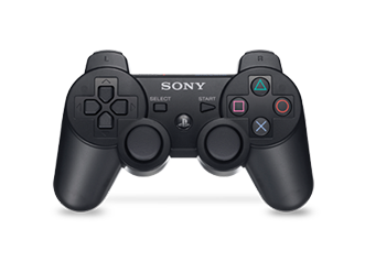 PS3 Dual Shock wireless controller