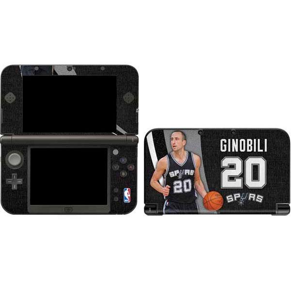 San Antonio Spurs Nintendo Gaming Skins