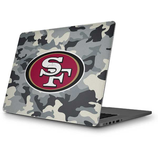 San Francisco 49ers MacBook Skins