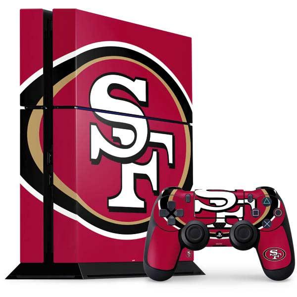 San Francisco 49ers PlayStation Gaming Skins