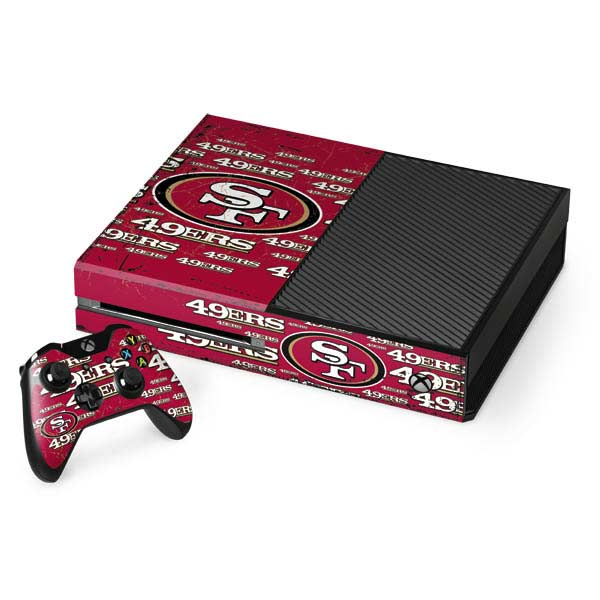 San Francisco 49ers Xbox Gaming Skins