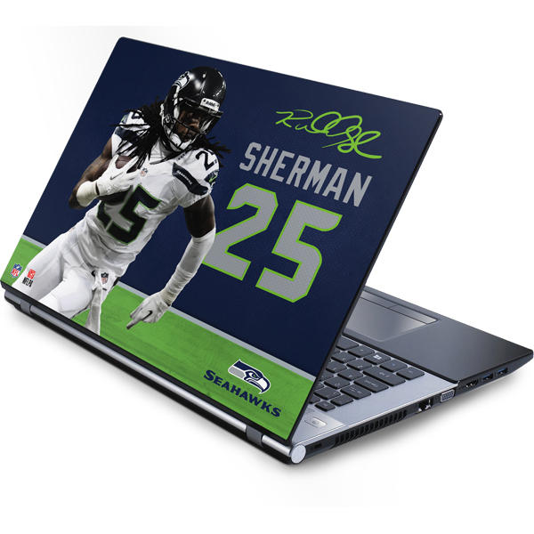Shop Seattle Seahawks Laptop Skins