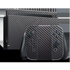 Carbon Fiber Nintendo Skins