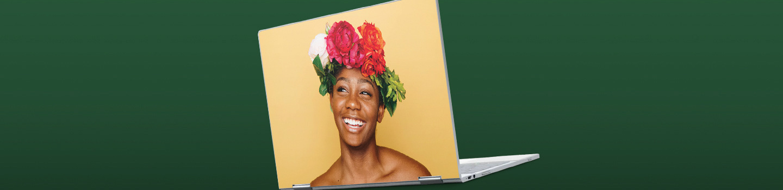 Custom Google Laptop Skins