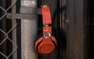 Dragon Ball Z Headphone Skins