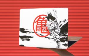 Dragon Ball Z Macbook Skins