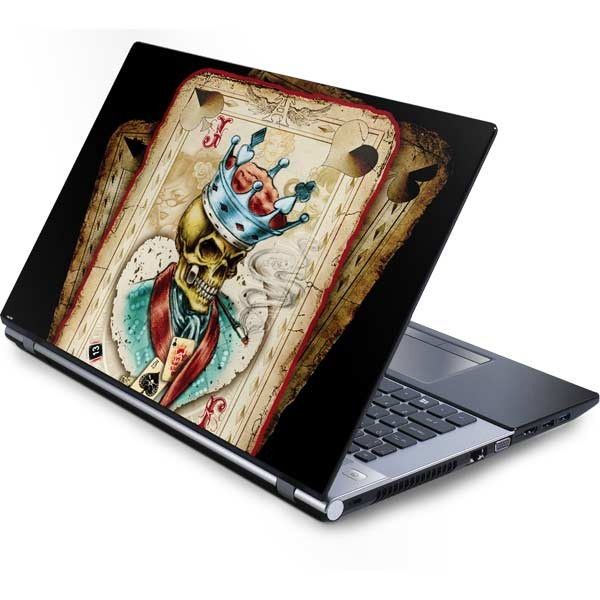 Shop Skulls and Bones Laptop Skins