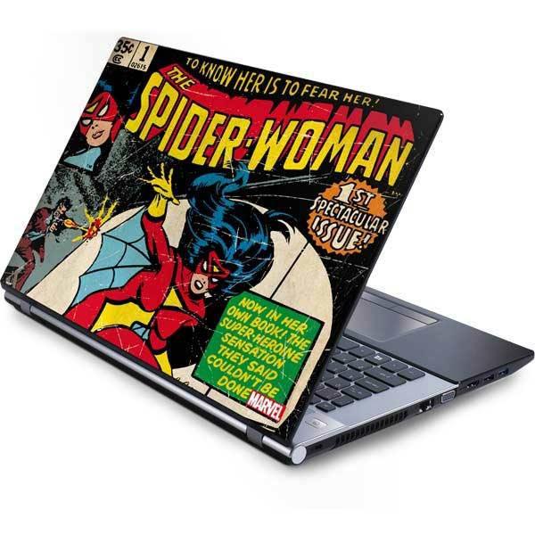 Spider-Woman Laptop Skins