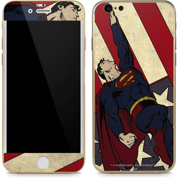 Shop Superman Phone Skins