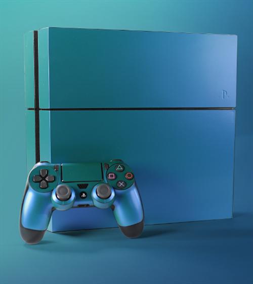 Chameleon PlayStation Skin