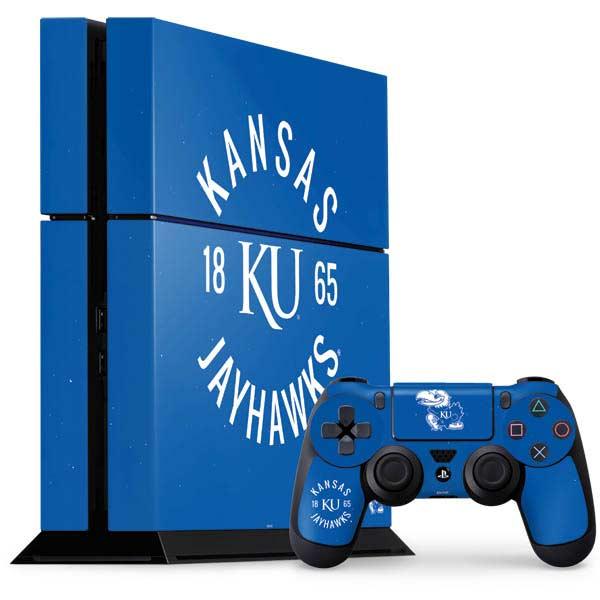 University of Kansas PlayStation Gaming Skins