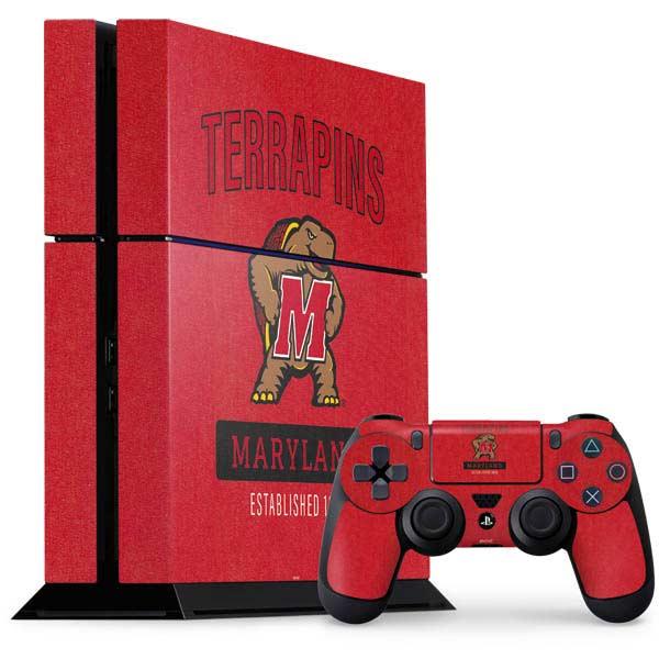 Shop University of Maryland PlayStation Gaming Skins