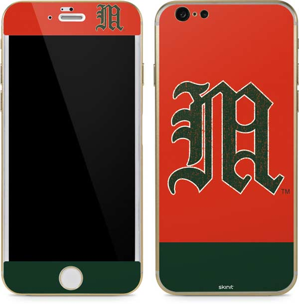 Shop University of Miami Phone Skins