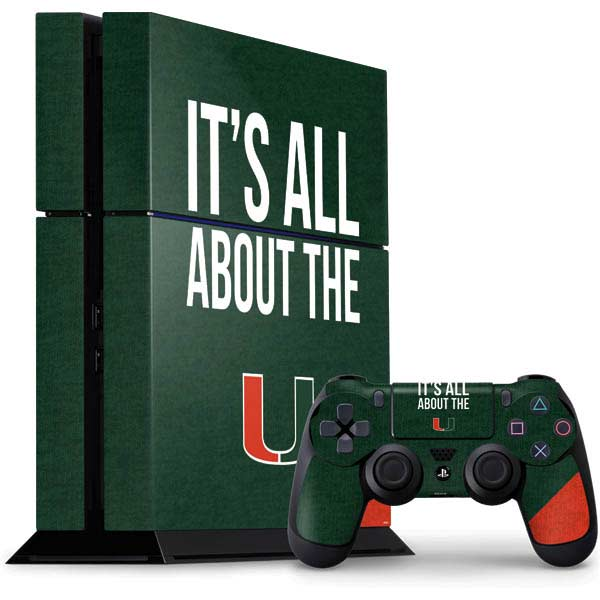 Shop University of Miami PlayStation Gaming Skins