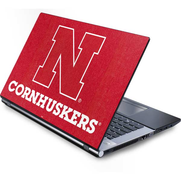 University of Nebraska Laptop Skins