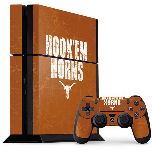 University of Texas at Austin PlayStation Gaming Skins
