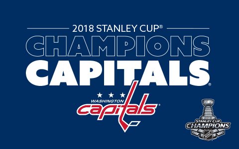 Designs for Washington Capitals 2018 Stanley Cup Championship Designs