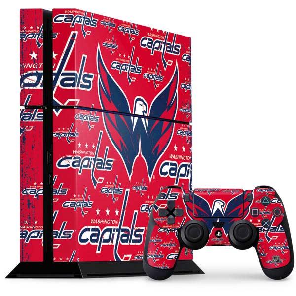 Washington Capitals PlayStation Gaming Skins
