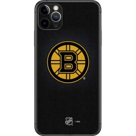 Boston Bruins Black Background Iphone 11 Pro Max Skin Nhl