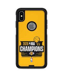 2020 NBA Champions Lakers Otterbox Commuter iPhone Skin