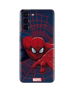 Spider-Man Crawls Galaxy S21 5G Skin