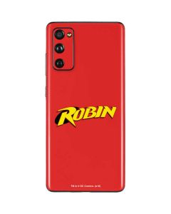 Robin Official Logo Galaxy S20 Fan Edition Skin