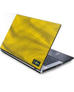 Sweden Soccer Flag Generic Laptop Skin