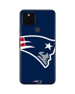 New England Patriots Large Logo Google Pixel 4a 5G Skin