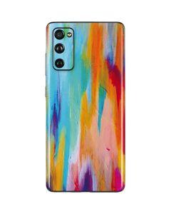 Multicolor Brush Stroke Galaxy S20 Fan Edition Skin