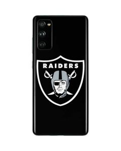 Las Vegas Raiders Large Logo Galaxy S20 Fan Edition Skin