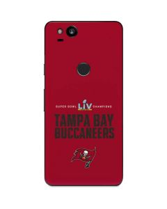 Super Bowl LV Champions Tampa Bay Buccaneers Google Pixel 2 Skin