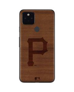 Pittsburgh Pirates Engraved Google Pixel 5 Skin
