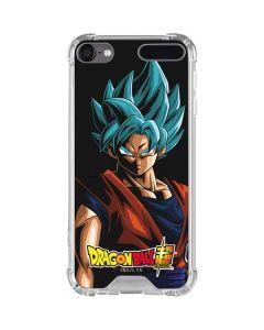 Goku Dragon Ball Super iPod Touch (5th-6th-7th Gen) Clear Case
