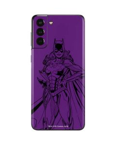 Batgirl Comic Pop Galaxy S21 Plus 5G Skin