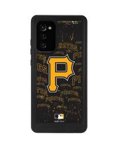 Pittsburgh Pirates - Cap Logo Blast Galaxy Note20 5G Waterproof Case