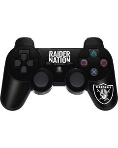 Las Vegas Raiders Team Motto PS3 Dual Shock wireless controller Skin