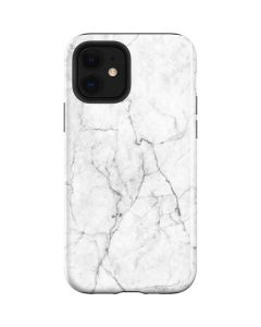 White Marble iPhone 12 Case