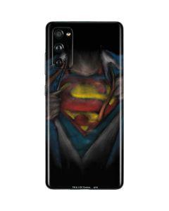 Superman Chalk Galaxy S20 Fan Edition Skin