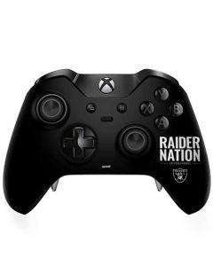 Las Vegas Raiders Team Motto Xbox One Elite Controller Skin
