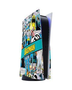 Batman Comic Book PS5 Console Skin