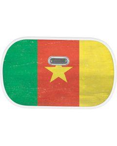 Cameroon Flag Distressed Link Skin