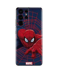 Spider-Man Crawls Galaxy S21 Ultra 5G Skin