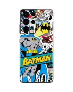 Batman Comic Book Galaxy S21 Ultra 5G Skin