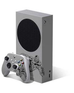 Cyborg Comic Pop Xbox Series S Bundle Skin
