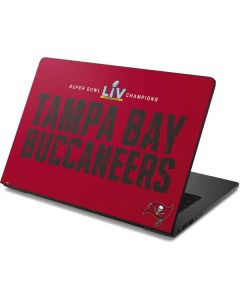 Super Bowl LV Champions Tampa Bay Buccaneers Dell Chromebook Skin
