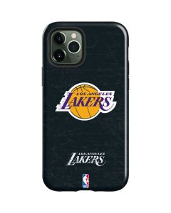 Los Angeles Lakers Black Primary Logo iPhone 12 Pro Max Case