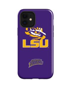 LSU Tiger Eye Purple iPhone 12 Case