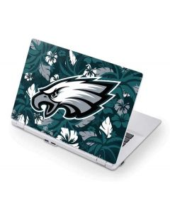 Philadelphia Eagles Tropical Print Acer Chromebook Skin